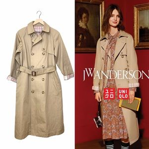 UNIQLO JW ANDERSON REVERSIBLE TRENCH COAT PLAID